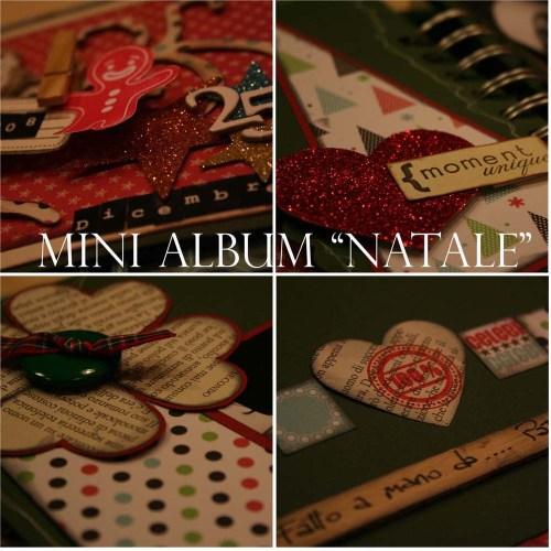 Mini Album Natale