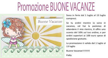 Promozione Buone Vacanze