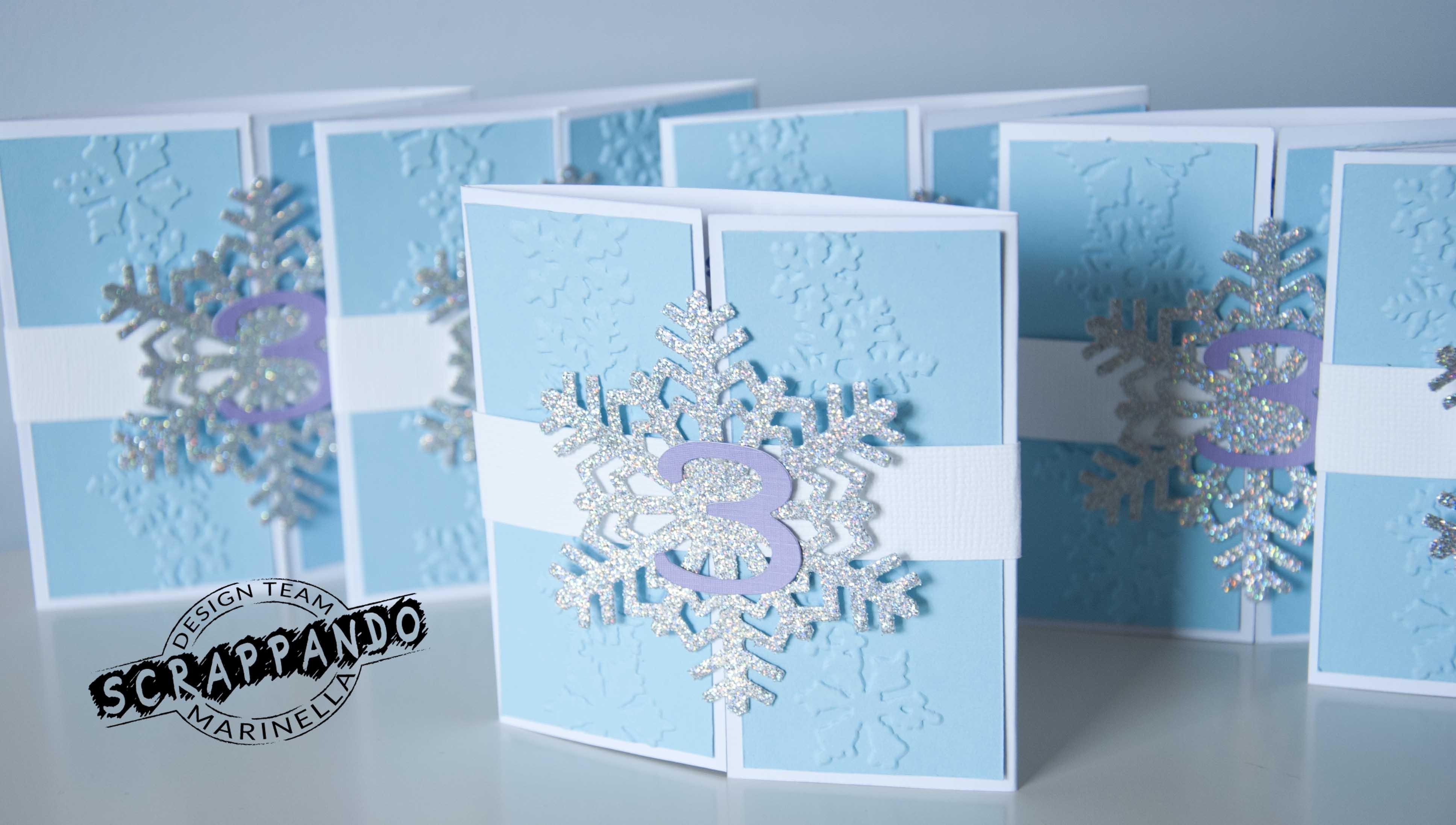 spesso Un compleanno nel regno di ghiaccio di Frozen | Scrappando Carta  ML13