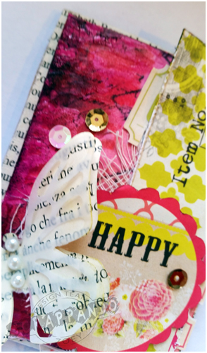 Zoey Scrappando ATC Mixed Media