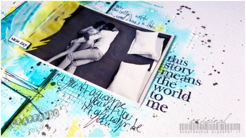 Mixed-Media-Layout_Zoey_Scrapsaurus_Scrappando_Scrapbooking1