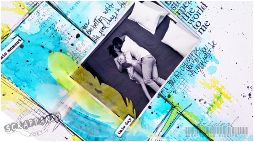 Mixed-Media-Layout_Zoey_Scrapsaurus_Scrappando_Scrapbooking_7