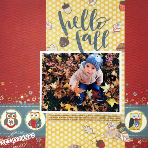 Hello fall layout