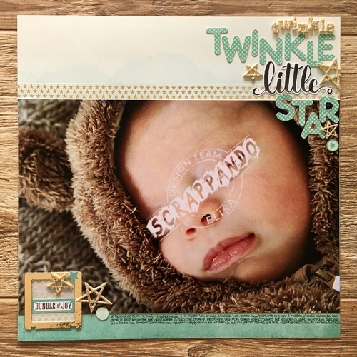 twinkle twinkle little star layout